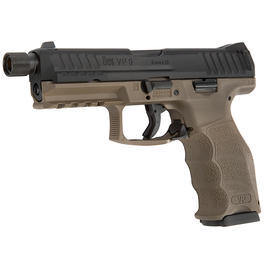 VFC Heckler & Koch VP9 Tactical mit Metallschlitten GBB 6mm BB Flat Dark Earth