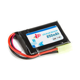 Intellect LiPo Akku 7,4V 850mAh 20C Slim AN/PEQ-15 Type