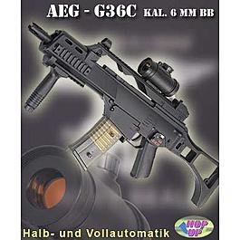 Modell 36C Softair Vollautomat 6 mm BB