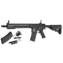 Cybergun Colt M4A1 Long KeyMod Vollmetall Komplettset S-AEG 6mm BB schwarz