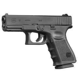 VFC Glock 19 Gen. 3 mit Metallschlitten GBB 6mm BB schwarz