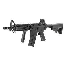 King Arms M4 CQB-R Ultra Grade S-AEG 6mm BB schwarz