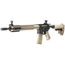 King Arms Black Rain Ordnance Fallout 15 Rifle Vollmetall S-AEG 6mm BB Dark Earth