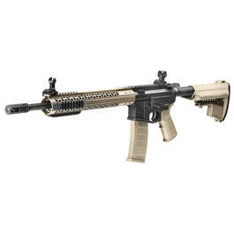 King Arms Black Rain Ordnance Fallout 15 Carbine Vollmetall S-AEG 6mm BB Dark Earth