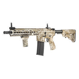 Evolution-Dytac Lone Star MK5 SMR 10.5 Zoll Vollmetall S-AEG 6mm BB Digital Desert