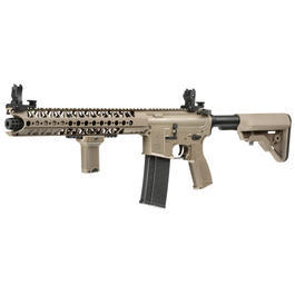 Evolution-Dytac Lone Star M4 LA SBR Vollmetall S-AEG 6mm BB Cerakote Dark Earth