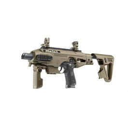 CAA Airsoft Division RONI Carbine Conversion Kit f. TM / KSC / WE / KJ M9 / M9A1 Dark Earth