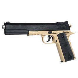 Cybergun Colt 1911 Target Kit inkl. Holster Springer 6mm BB Desert Tan