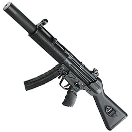 SRC SR5SD2 SMG Vollmetall CO2 BlowBack 6mm BB schwarz