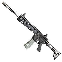 Evolution Airsoft Z-M Weapons LR-300 AXLT Vollmetall BlowBack S-AEG 6mm BB schwarz