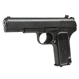 KLI TT-33 mit Metallschlitten GBB 6mm BB schwarz