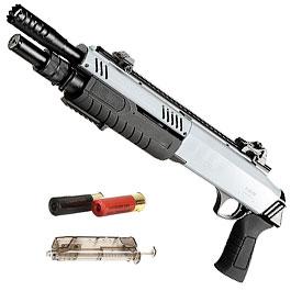 BO Manufacture Fabarm STF12 11 Zoll Shorty Shotgun Springer 6mm BB grau