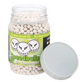 Speedballs Bio Tournament BBs 0.43g 2.000er Container weiss