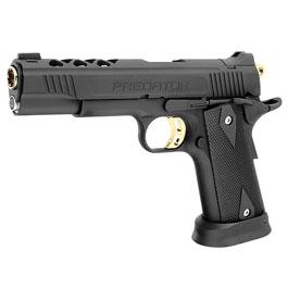 King Arms Predator Tactical Iron Shrike Vollmetall GBB 6mm BB Custom I