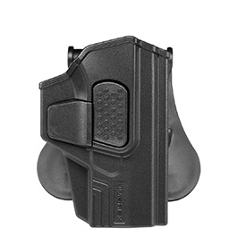 Umarex 360 Grad Holster Kunststoff Paddle für Walther P99 Pistolen schwarz