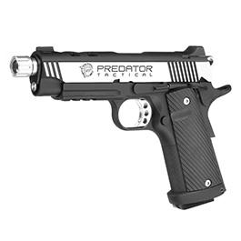 King Arms Predator Tactical Night Shrike .45 ACP Vollmetall GBB 6mm BB 2 Tone