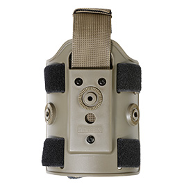Amomax Tactical Holster Drop Leg Plate / Beinplattform Flat Dark Earth
