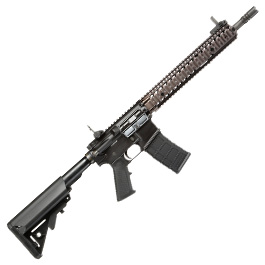 GHK Colt / Daniel Defense M4A1 RIS II Vollmetall Gas-Blow-Back 6mm BB Dualtone