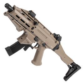 ASG CZ Scorpion EVO 3 ATEK Sub Machine Gun S-AEG 6mm BB Flat Dark Earth