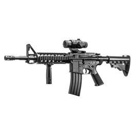 Well M4A1 RIS Carbine mit Containermagazin Komplettset AEG