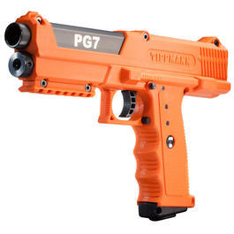 Paintballs - Tippmann Pfefferpistole PG7 CO2 Halbautomatik Kal. .68 orange