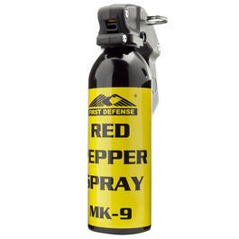 First Defense Pfefferspray MK-9 Red 400 ml hochkonzentriert