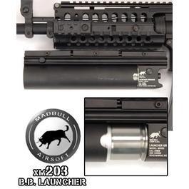 Paintball Gun - Mad Bull XM203 BB Launcher, lang