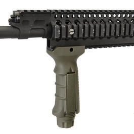 UTG Deluxe Tactical QD RIS Frontgriff oliv