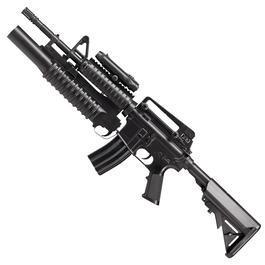 "Softair AEG - M4A1 R.I.S. mit M203 ""All In One"" AEG"