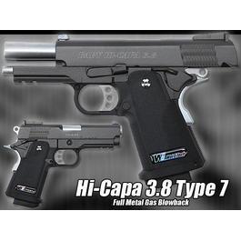 Softair ab 18 - Wei ETech Baby Hi-Capa 3.8 Type 7, GBB, Vollmetall