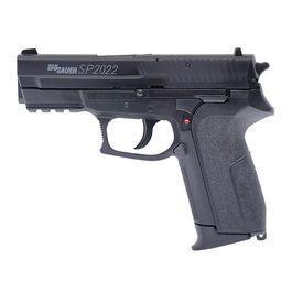 Airsoftwaffen - Sig Sauer SP2022, schwarz, H.P.A., BAX