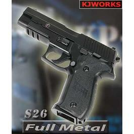 BB Gun - KJ Works S 26 GBB Vollmetall
