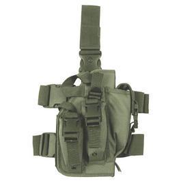 Paintball Waffen - Pistolenbeinholster, oliv