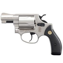 Smith & Wesson Chiefs Special Schreckschussrevolver 9mm R.K. vernickelt
