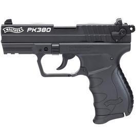 Schreckschußwaffen - Walther PK380 Schreckschuss Pistole 9mm P.A.K. schwarz
