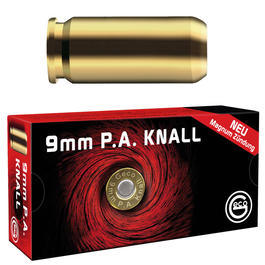 Geco Knallpatronen, 9mm P.A. 50 St�ck
