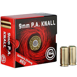 Geco Knallpatronen, 9mm P.A.K. 25 St�ck