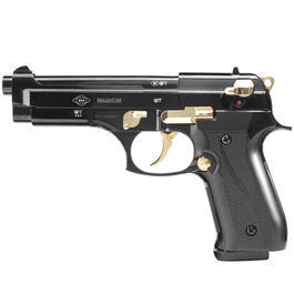 Signalmunition - Ekol Firat Magnum Schreckschuss Pistole 9mm P.A.K. schwarz/gold