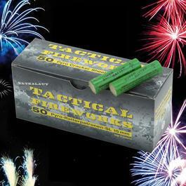 Pyrotechnik - Tactical Fireworks50 Ratterpatronen für Schreckschusswaffen