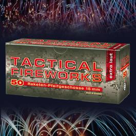 Signalmunition - Pfeifpatronen Tactical Fireworks 50 Stück für Schreckschusswaffen