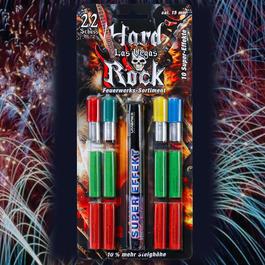 Signaleffekte - Hard Rock Las Vegas Feuerwerk Sortiment 22-teilig