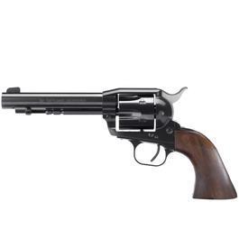 Schreckschußwaffen - ME 1873 Modell Hartford Schreckschuss Revolver schwarz brüniert Kal. 9mm R.K.