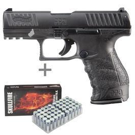Signalwaffen - Walther PPQ M2 Schreckschuss Pistole inkl. 50 Schuss Marken-Platzpatronen