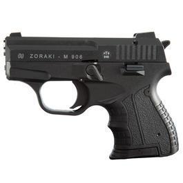 Schreckschußwaffen - Zoraki Schreckschusspistole 906 9mm P.A.K. schwarz-chrom