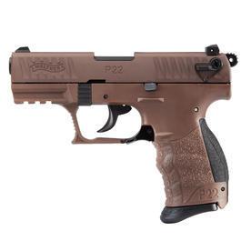 Walther P22 - Walther P22Q Schreckschuss Pistole 9mm P.A.K. chocolate