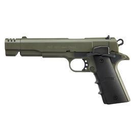 Signalwaffen - ME 1911 Schreckschuss Pistole Kal. 9mm P.A.K. oliv
