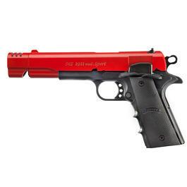 Sport-Waffen - ME 1911 Schreckschuss Pistole Kal. 9mm P.A.K. rot-schwarz