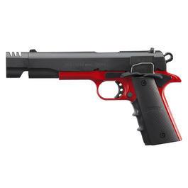 Schreckschußwaffen - ME 1911 Schreckschuss Pistole Kal. 9mm P.A.K. schwarz-rot