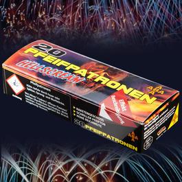 Signalmunition - Hellscream Pfeifpatronen Signaleffekte 20 Schuss