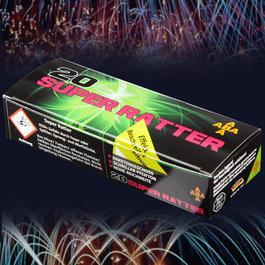 Signalmunition - Super Ratter Signaleffekte 20 Schuss